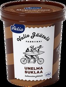 Сливочное мороженое Valio «Шоколадная мечта» с шоколадной стружкой», 15 %