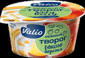 Творог Valio с персиком Clean Label®, 3.5 %, 140 г