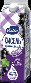 «Кисель Valio» безалкогольный напиток из черной смородины, без сахара,0.95 л