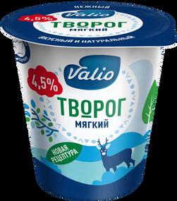 Творог Valio «Мягкий», 4.5 %, 340 г