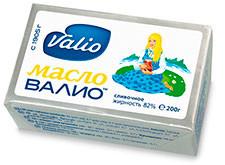 Упаковка масла Valio