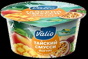 """Йогурт """"Valio Clean Label тайский смусси""""с манго и маракуйей"""