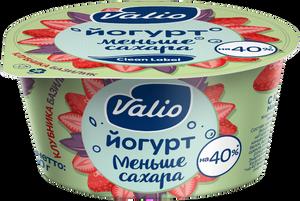 Йогурт Valio с клубникой и базиликом Clean Label®, 2.9 %, 120 г