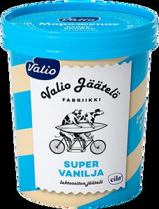 Мороженое сливочное ванильное с наполнителем «Супер ваниль» Valio