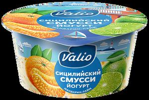 "Йогурт ""Valio Clean Label сицилийский смусси"" с мандарином и лаймом"