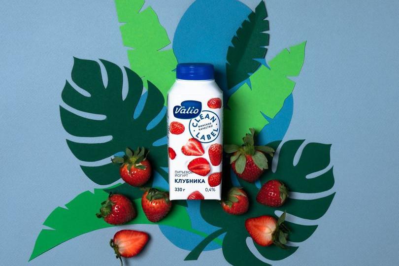 Йогурт питьевой Valio с клубникой Clean Label.jpg