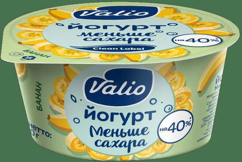 Йогурт Valio с бананом Clean Label®, 2.9 %, 120 г