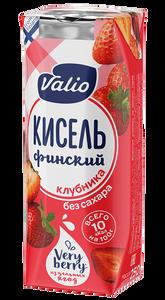 «Кисель Valio» безалкогольный напиток из клубники и винограда без сахара, 250 г