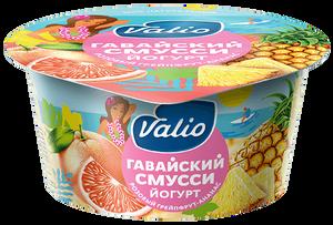 """Йогурт """"Valio Clean Label гавайский смусси"""" с розовым грейпфрутом и ананасом"""