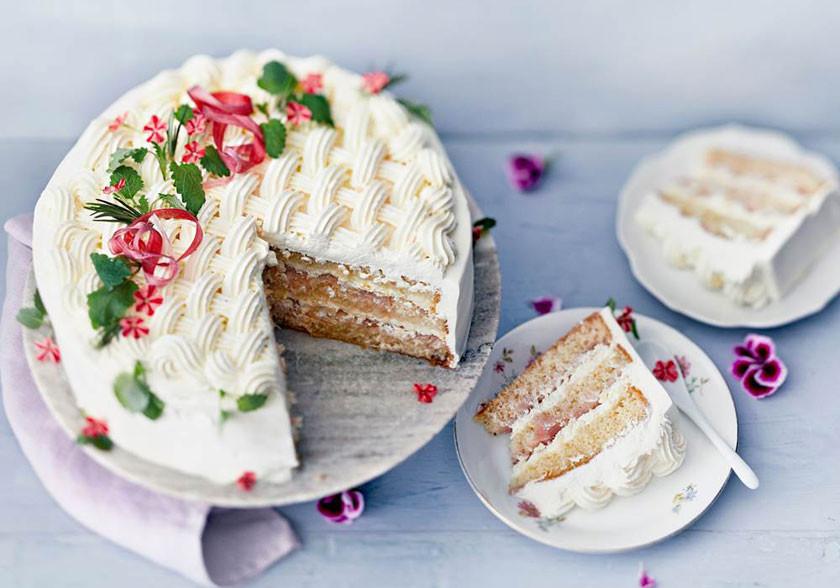 Торт со сливками Valio