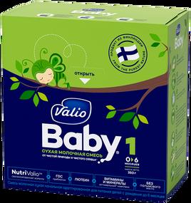 Смесь молочная сухая начальная адаптированная Valio Baby 1 NutriValio для питания детей с рождения до 6 месяцев