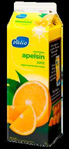 Апельсиновый сок Valio, обогащенный витамином С, 1л