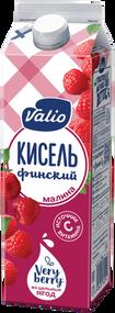 «Кисель Valio» безалкогольный напиток из малины, обогащенный витамином С, 0.95 л