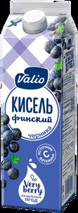 «Кисель Valio» безалкогольный напиток из черники, 0.95 л