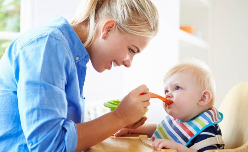 Объем питания детей до года