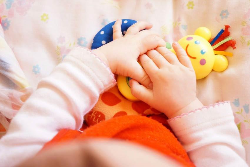 Развитие мелкой моторики малыша