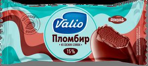 Мороженое эскимо пломбир шоколадный в молочном шоколаде Valio, 80 г