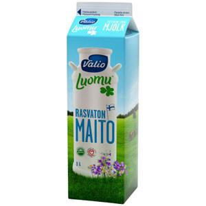 Молоко Valio