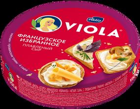 Сыр плавленый Viola ассорти «Французское избранное», 130 г